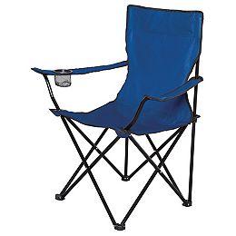 Chaise Pliant Dans Un Sac - Bleu