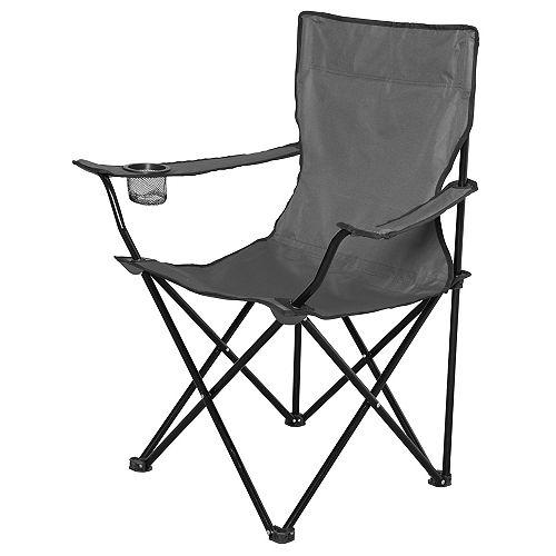 Folding Bag Chair - Grey