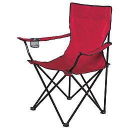 Chaise Pliant Dans Un Sac - Rouge