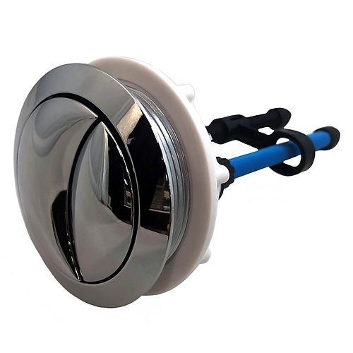 Dual Flush Toilet Push Button for 2 PC Toilets