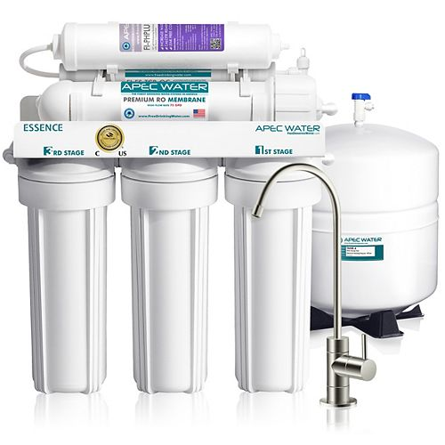 APEC Water Systems Essence Premium Quality 75 GPD pH+ Alkaline Under-Sink Reverse Osmosis Drinking Water Filter System