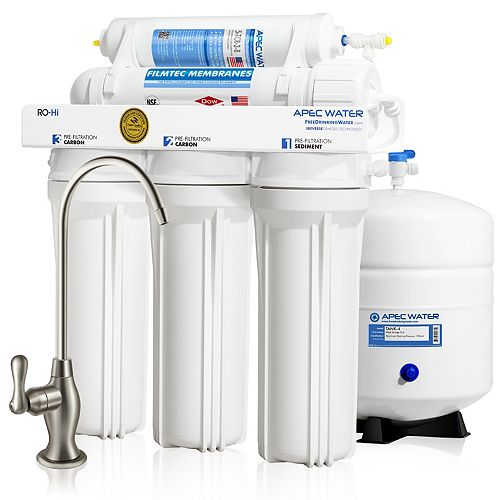 APEC Water Systems Ultimate Premium Quality Fast Flow 90 GPD Under-Sink Reverse Osmosis Drinking Water Filter System