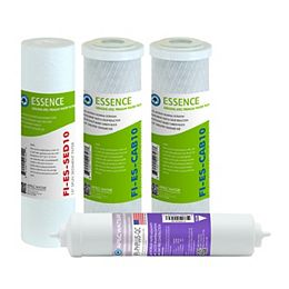 Essence 10 in. Alkaline pH+ Calcium Re-Mineralization Replacement Pre-Filter Set for ROES-PH75