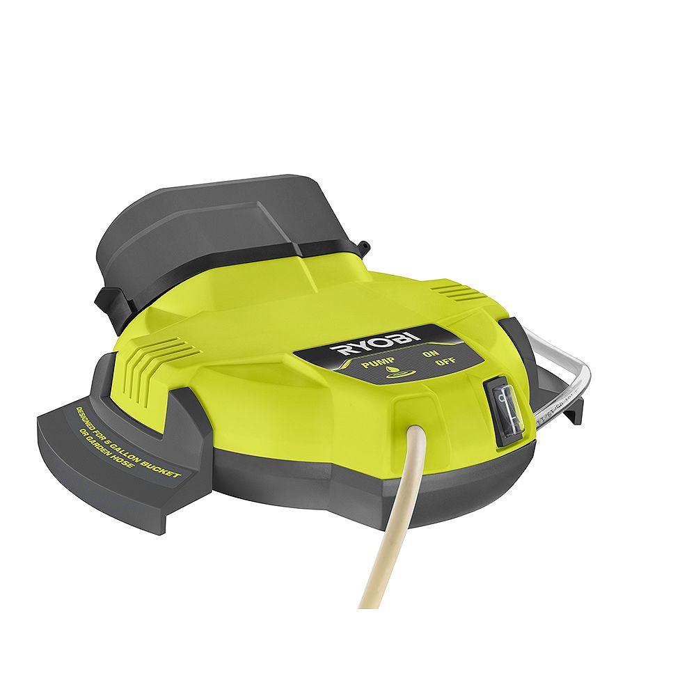 RYOBI 18V ONE+ Portable Bucket Top Misting Kit