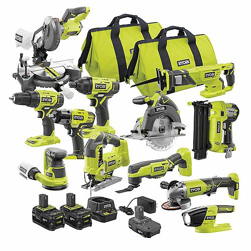 18V ONE+ Lithium-Ion Cordless Combo Kit (12-Tool)