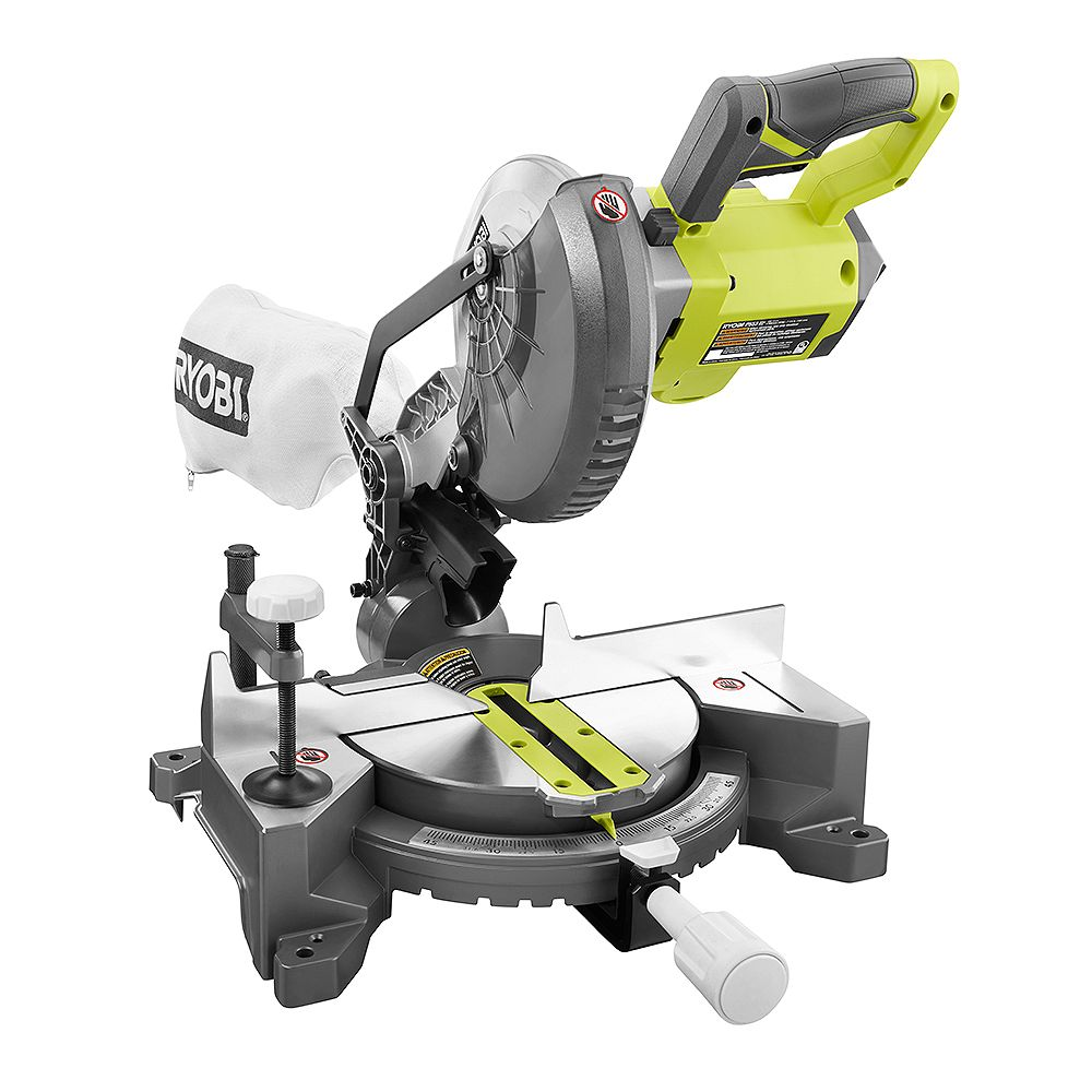 RYOBI 18V ONE+ Cordless 7-1/4-inch Compound Mitre Saw (Tool-Only)