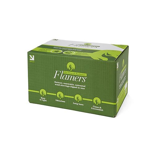 Flamers Natural Firelighters (200-Pack)