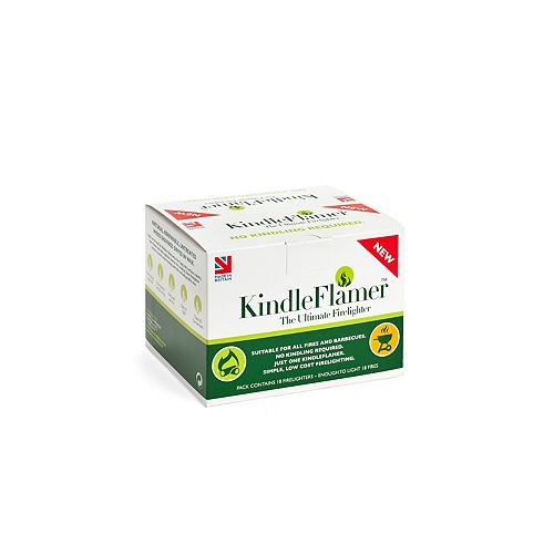 KinderFlamers Natural Firelighters (18-Pack)
