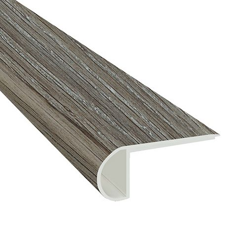 Dayhawk 3/4 in. Thick x 2 3/4 in. Wide x 94 in. Length Luxury Vinyl Flush StairNose Molding