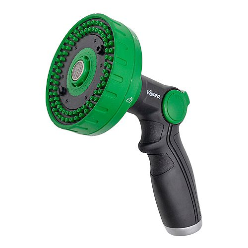 6-Pattern Rain Shower Nozzle