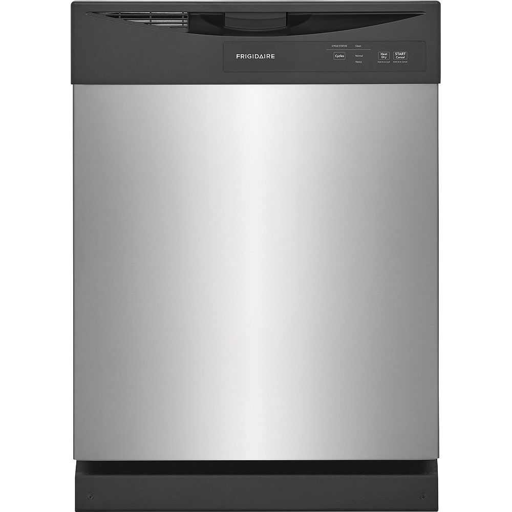 Frigidaire 24-inch Built-In Dishwasher in Stainless Steel