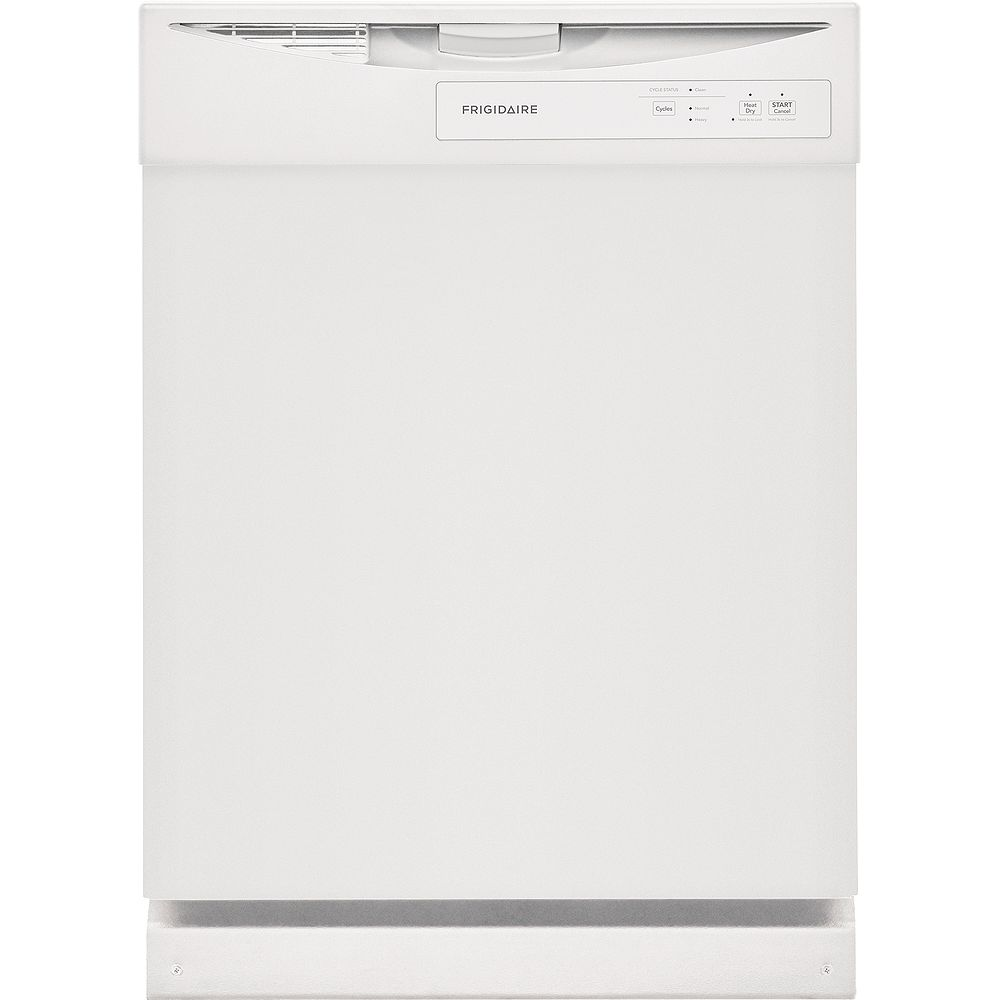 Frigidaire 24-inch Built-In Dishwasher in White