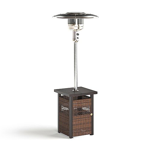 All-Weather Wicker 48,000 BTU LP Gas Patio Heater