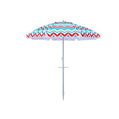 6.5 ft. Better Beach Patio Umbrella in Playa