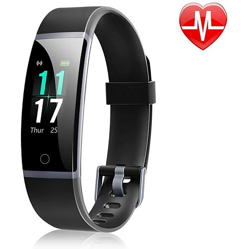 ID131 Colour Display Fitness Tracker with Heart Rate Monitor - Black