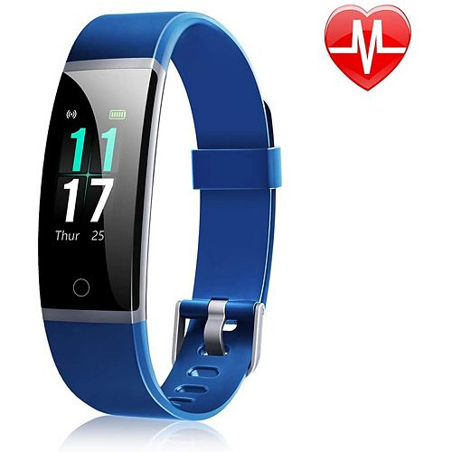 ID131 Colour Display Fitness Tracker with Heart Rate Monitor - Blue