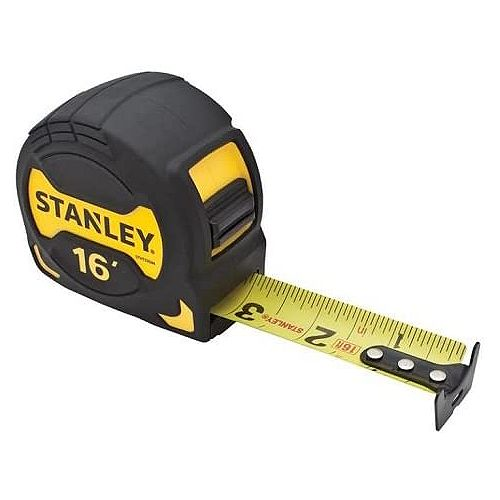 1 1/8-inch X 16 ft. Yellow/Black Tape Measure