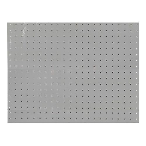 (2) 22 In. W x 18 In. H x 1/8 In. D White Polypropylene Pegboards with 3/16 In. Hole Size