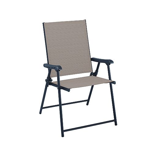 Mix & Match Riverbed Sling Folding Patio Dining Chair
