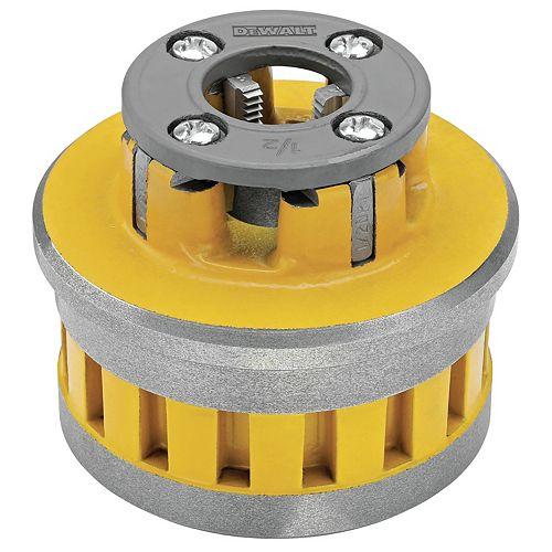 1/2-inch High-Speed Pipe Threader Die Head (DCE700012)