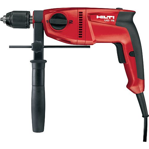 120-Volt 1/2 inch Universal Wood Drill UD 16 Keyless (Tool Only)