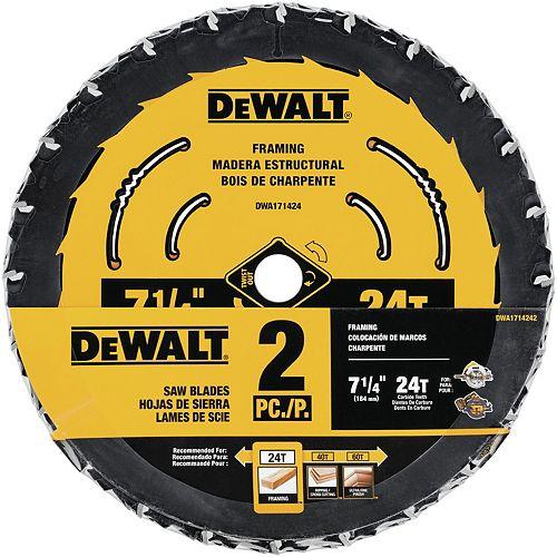 7-1/4-inch Circular Saw Blades (DWA1714242)