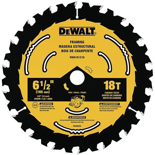 6-1/2-inch Circular Saw Blades (DWA161218)