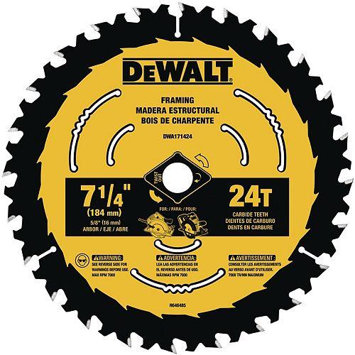 7-1/4-inch Circular Saw Blades (DWA171424)