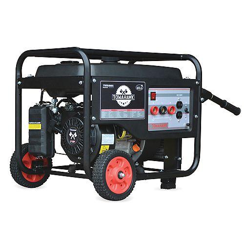 Générateur De Soudeur Motorisé 120 Amp 7 Hp Générateur D'onduleur Silencieux 2200 Watts