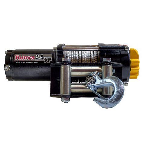 Treuil électrique Runva 12V 2500lb pour VTT et  VHR  Ensemble Expert de  remorquage redressement
