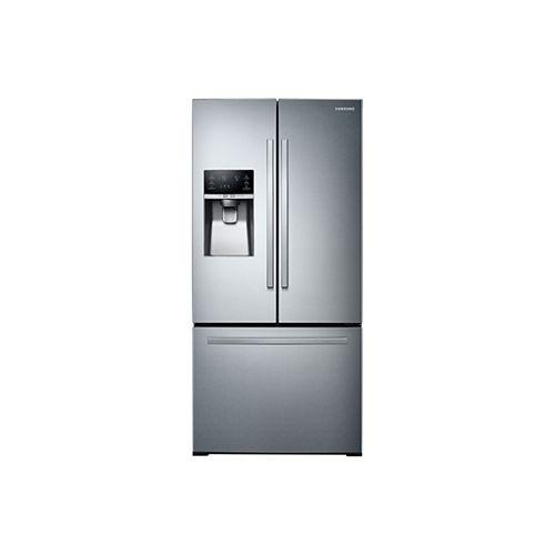 33-inch W 25.5 cu. ft. French Door Refrigerator in Stainless Steel, Standard Depth - ENERGY STAR®