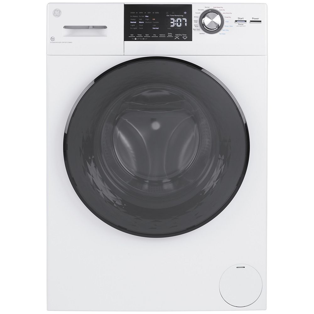 GE 24-inch 2.8 cu. ft.Capacity Front Load Washer/Condenser Dryer Combo
