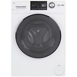 24po Combiné laveuse-sécheuse à chargement frontal - blanc