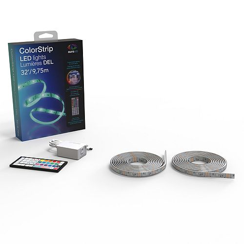 Aura LED 32FT Light Strip with AC Power Adapter