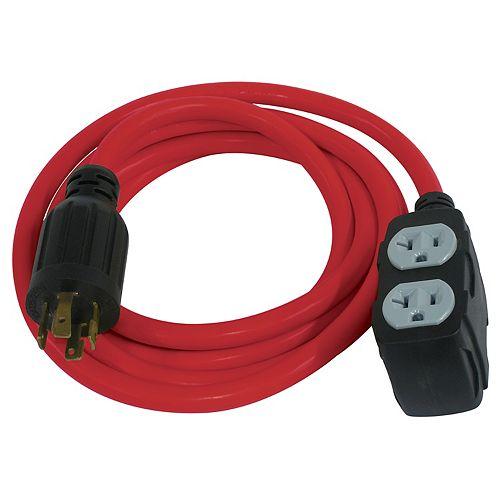 10' Generator Extension Cord
