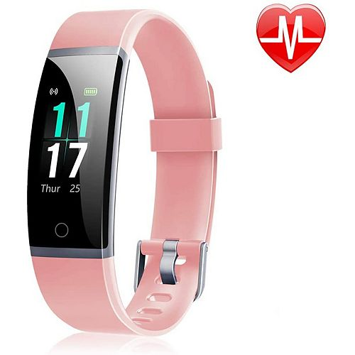ID131 Colour Display Fitness Tracker with Heart Rate Monitor - Pink