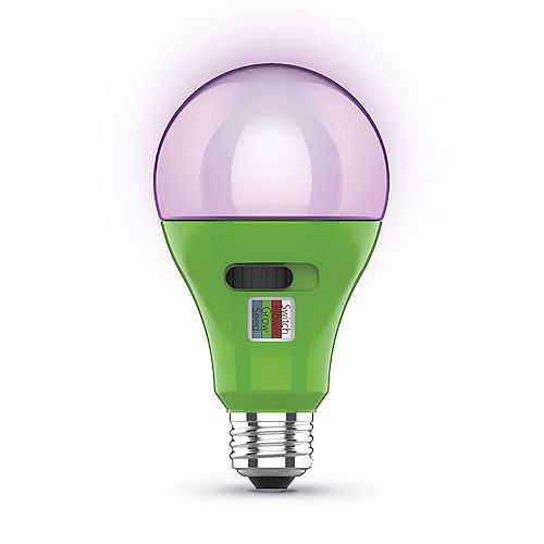 17-Watt A21 Medium E26 Base Selectable Spectrum Indoor Greenhouse Plant Grow LED Light Bulb