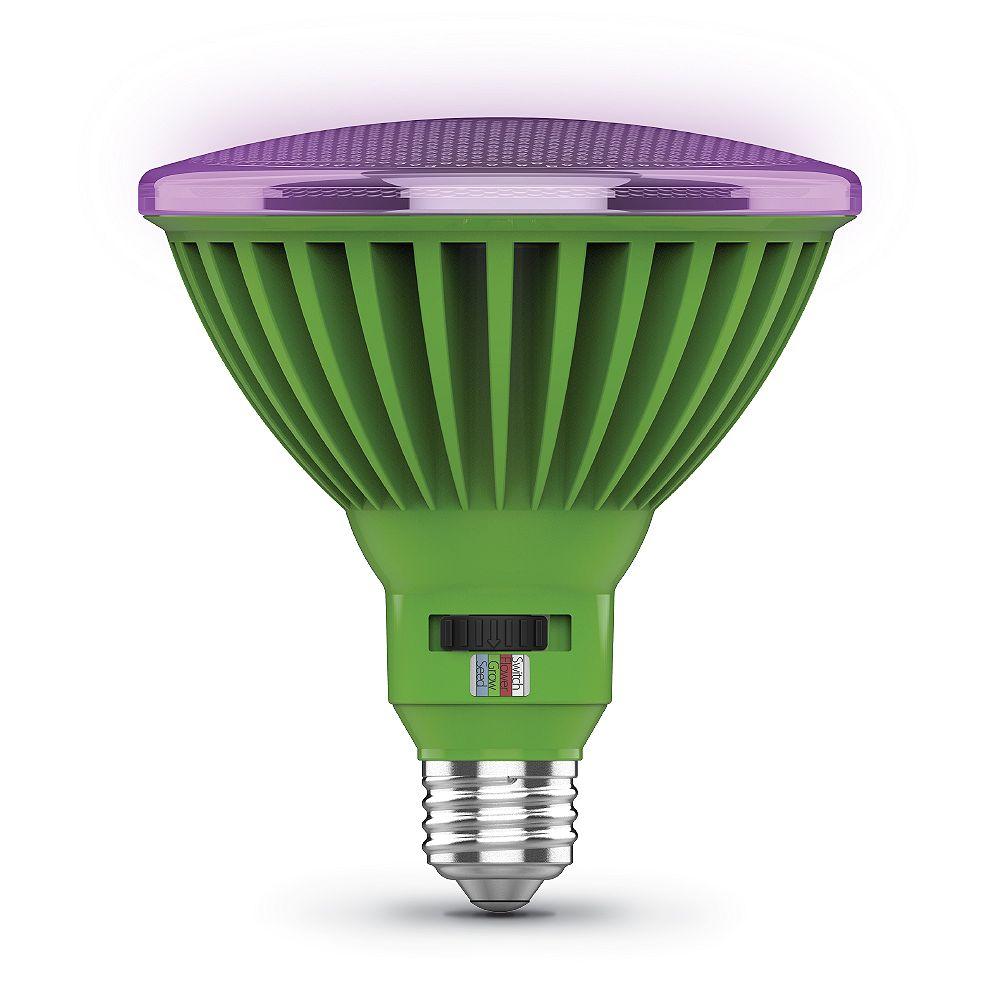 Feit Electric 30-Watt PAR38 Selectable Spectrum Indoor Greenhouse E26 Plant Grow LED Light Bulb