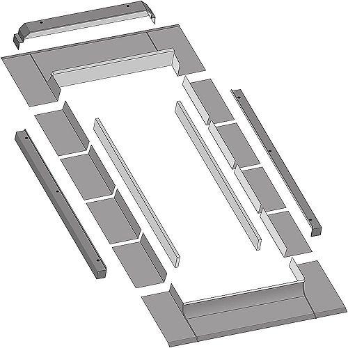Solin Thermo pour puits de lumière cadre intégré ouvrant (FV, FVE & FVS) modèle 312