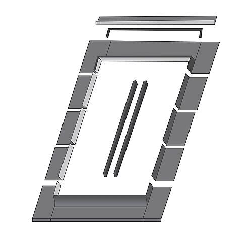 Solin ELN pour fenêtre de toit modèle FTP/FPP 16