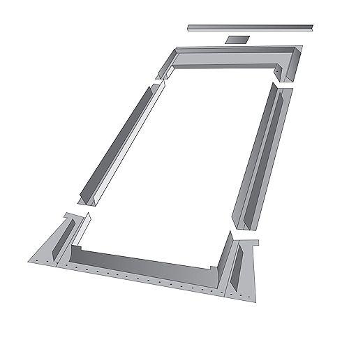 Solin à relief élevé EHN pour fenêtre de toit modèle FTP/FPP 10