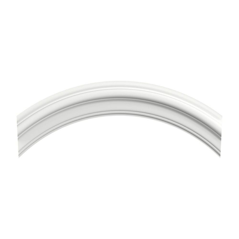 Interbois Mdf White Primed Curved Molding 1 1 8 X 2 1 2 X 19 1 2 The Home Depot Canada