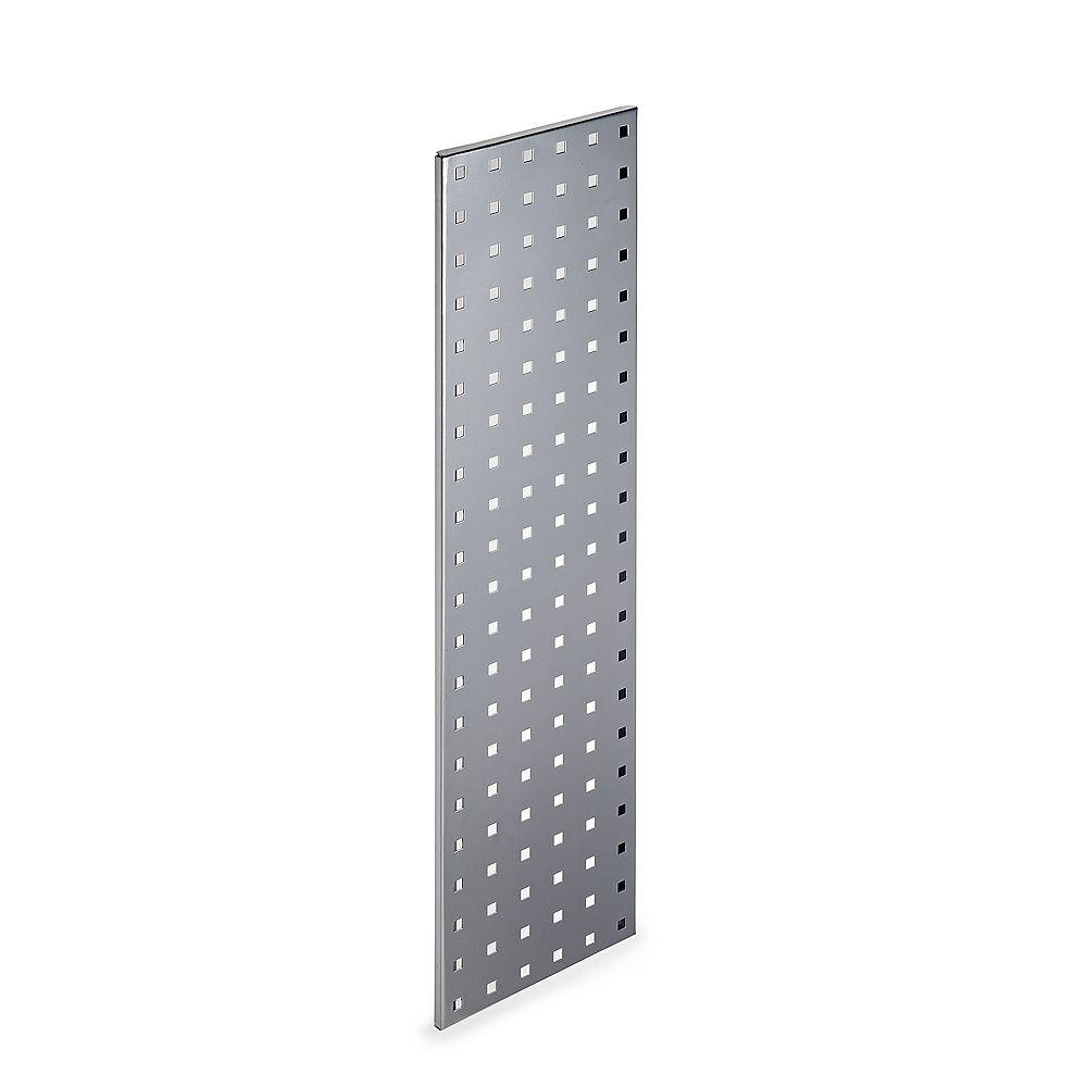 Triton (1) 31.5 In. W x 9 In. H Silver Epoxy, 18 Gauge Steel  Pegboard Strip