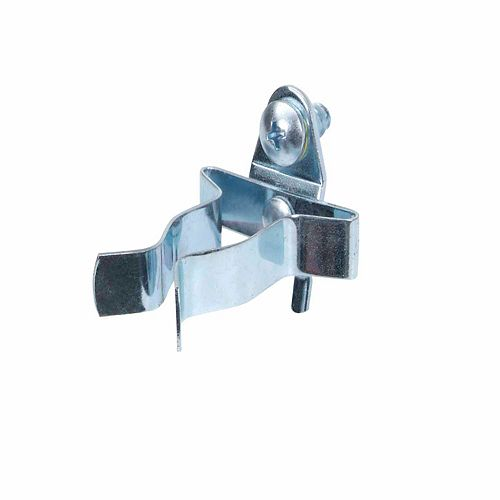 3/4 In. to 1-1/4 In. Hold Range Extended Spring Clip for Pegboard, 3 Pack