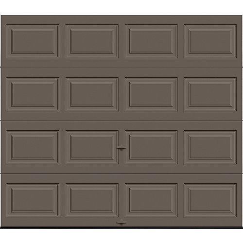 Porte de garage Classique 8pi x 7pi isolée Intellicore Valeur «R» 12.9 Bronze