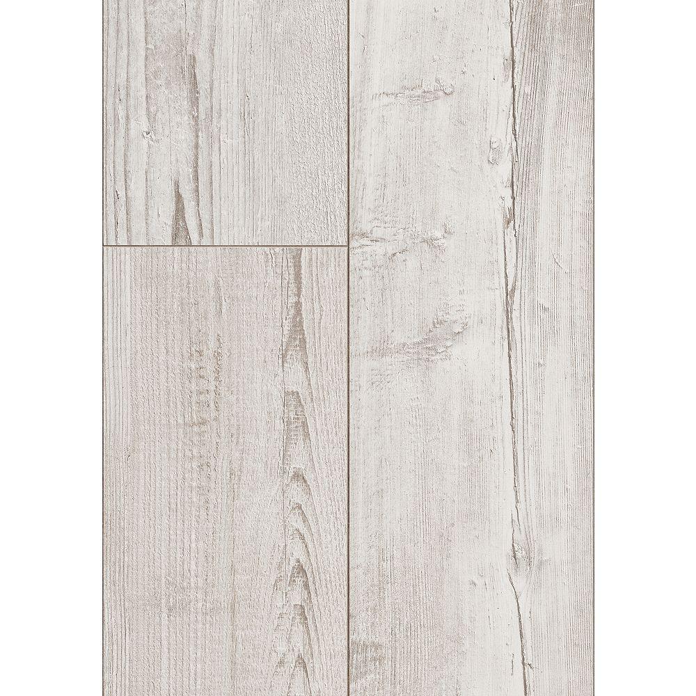 Trafficmaster Washed Grey Pine 10mm, White Laminate Flooring Home Depot