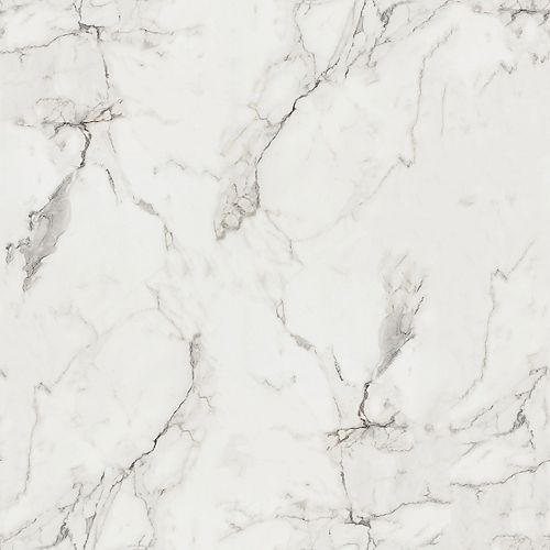 180fx Calacatta Marble 5 ft. x 12 ft. Laminate Sheet in Etchings Finish 3460-46