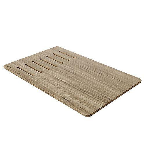 Poste de travail évier de cuisine en bois Grain composite Planche à découper