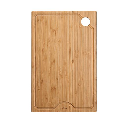Workstation Kitchen Sink 11 inch Solid Bamboo Cutting Board
