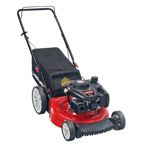 21-inch 159cc Check Don't Change 2-in-1 Gas Push Lawn Mower